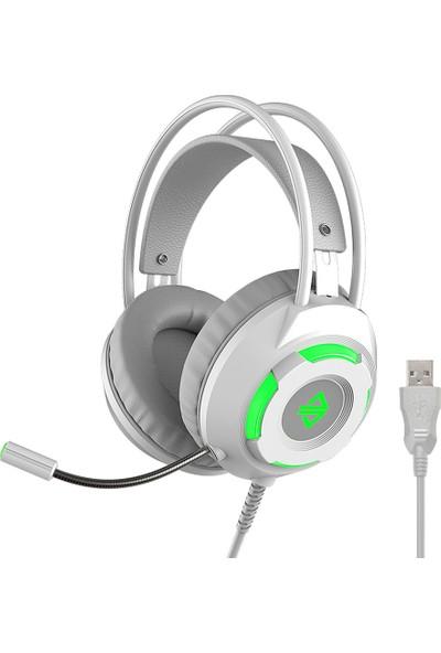 Ajazz AX120 - 7.1 Kanal Stereo Oyun Kulaklığı (Yurt Dışından)