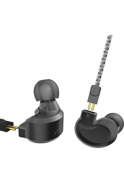 Bqeyz K1 Kablolu Kulaklık Metal Kulaklık (Yurt Dışından)