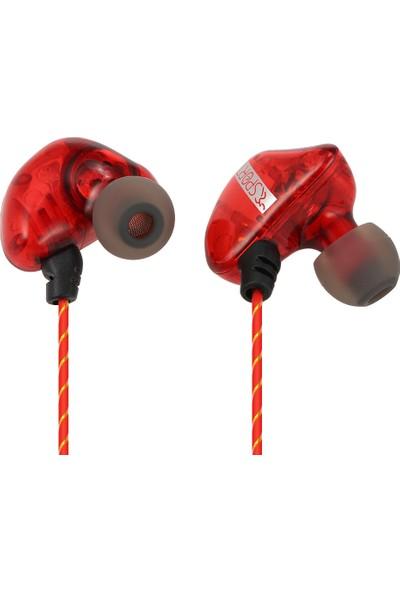 Auvc 3.5mm Kablolu Müzik Kulaklık Akıllı (Yurt Dışından)