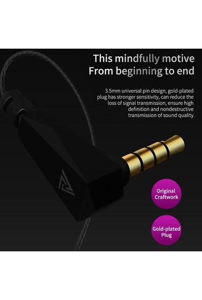 Qkz Vk4 3.5mm Kablolu Spor Kulaklık (Yurt Dışından)