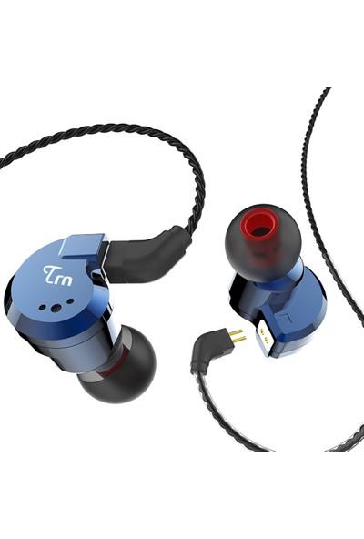 Trn V80 3.5mm Kulak İçi Kulaklık 2dd + 2ba Hibrid (Yurt Dışından)