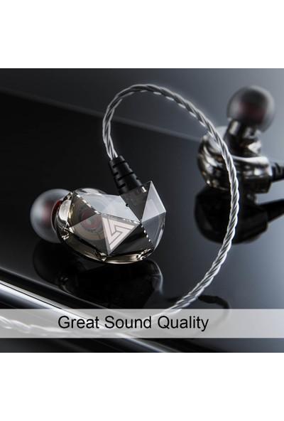 Qkz Ak2 3.5mm Kablolu Kulak İçi Kulaklık (Yurt Dışından)