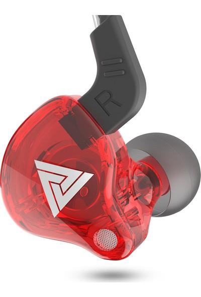 Qkz Ak6 Evrensel 3.5mm Hifi Spor Kulaklık Mikrofon (Yurt Dışından)