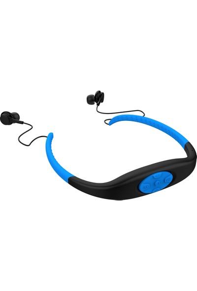 Auvc Spor Kulaklık Bluetooth 5.0 Kulaklık 8 GB Müzik Çalar (Yurt Dışından)