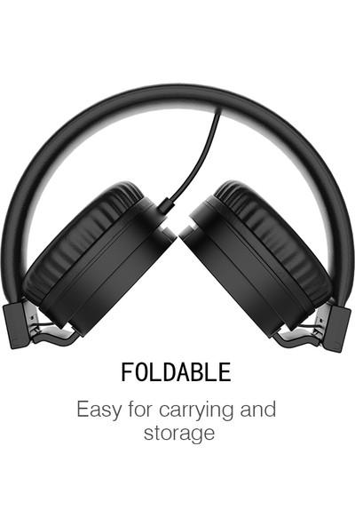 Gorsun 3.5mm Kablolu Gaming Headset Kulak Spor Kulaklık (Yurt Dışından)