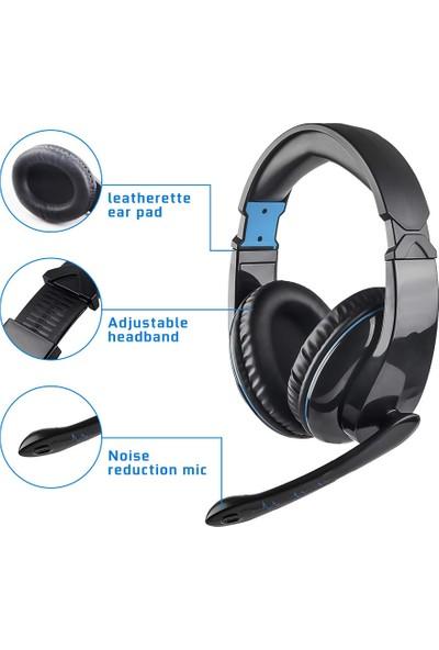 Letton L5 3.5mm Gaming Headset Aşırı Kulaklık (Yurt Dışından)