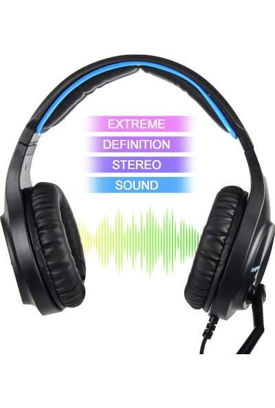 Letton L6 3.5mm Gaming Headset Stereo Pc Dizüstü Akıllı (Yurt Dışından)