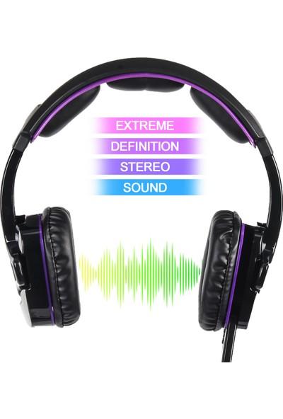 Letton L8 Gaming Headset 3.5mm Stereo Aşırı Kulaklık (Yurt Dışından)