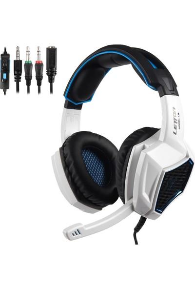 Letton L9 Oyun Kulaklığı 3.5mm Stereo Aşırı Kulaklık (Yurt Dışından)