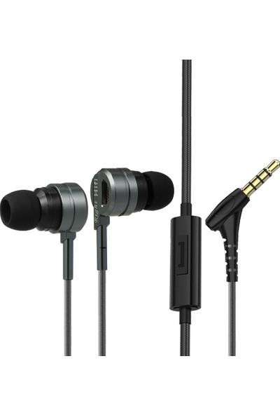 Ptm M6 Kablolu Kulaklık Taşınabilir Kulak İçi Kulaklık (Yurt Dışından)