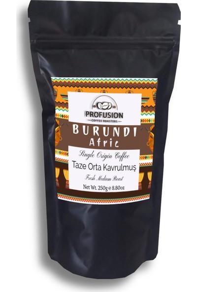 Profusion Coffee Taze Orta Kavrulmuş Burundi Afric Kahve 250 gr