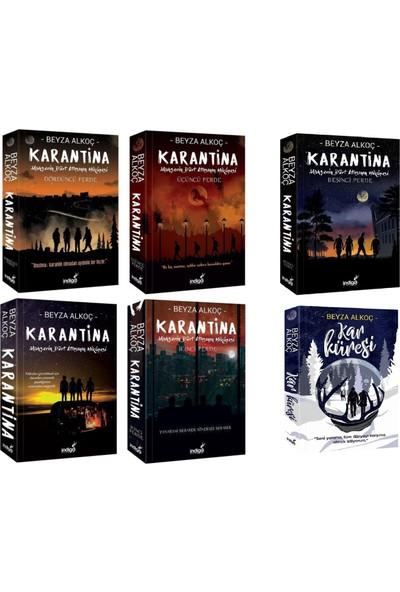 Karantina Serisi 5 Kitap ve Kar Küresi 6 Kitap Takım - Beyza Alkoç