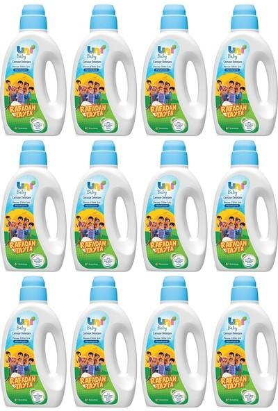 Uni Baby Sıvı Çamaşır Deterjanı Rafadan Tayfa 12 x 1500 ml
