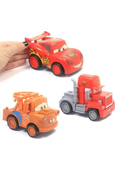 Elifeshop Cars Arabalar 3'lü Set