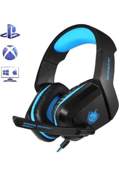 Kotion Each Kotıon Phoinikas H1 Oyuncu Gamer Seri Pc-Xbox One-Ps4 Kumandalı Kulaklık Phoınikas H1