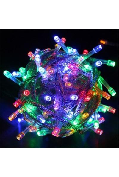 Oyuncakistan Yılbaşı LED Işık Çok Renkli 8 Fonksiyonlu 10M Fişli