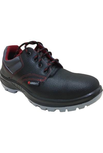 Arısan 1001 Deri Iş Ayakkabısı Siyah S2 No:45