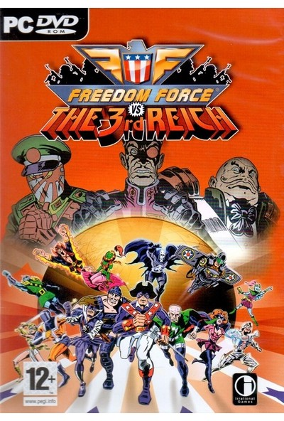 Freedom Force PC Oyun