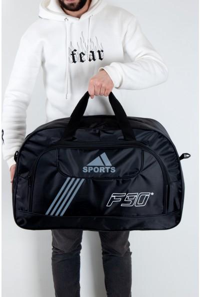 Byhakan HC01 Askılı Spor Seyahat El ve Omuz Valiz Siyah