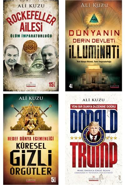 Dünya'yı Yöneten Gizli Örgütler 4 Kitap - Ali Kuzu