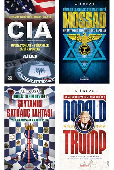 Derin İstihbarat Örgütleri Seti 4 Kitap - Ali Kuzu