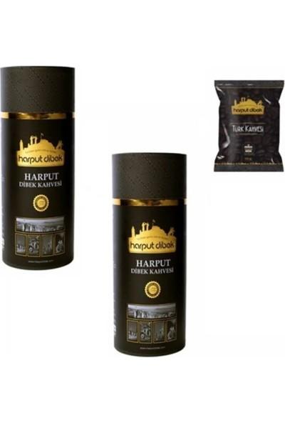 Harput Dibek Kahvesi Harput Dibek 1 kg x 2 + Türk Kahvesi 100 gr