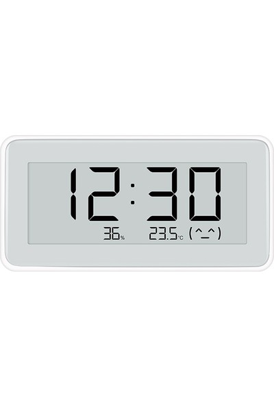 Xiaomi Mijia Elektronik Dijital Termometre Higrometre Sıcaklık Nem Ölçer - Bebek Odası Masa Saati (Yurt Dışından)