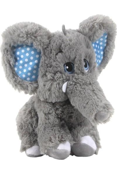 Selay Fil Peluş Oyuncak 28 cm Mavi