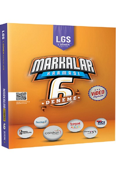 Karma LGS 1. Dönem Konuları Markalar Karması 6 Deneme
