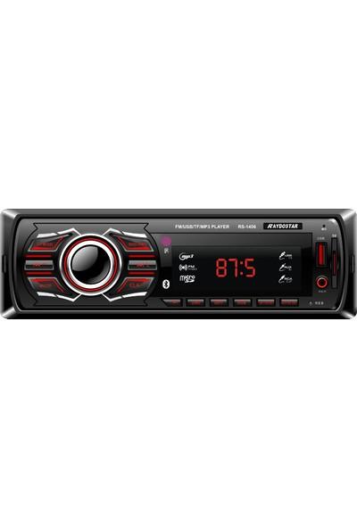 Raydostar RS-1406 Bluetoothlu 4*50 Ses Çıkışlı Oto Teyp