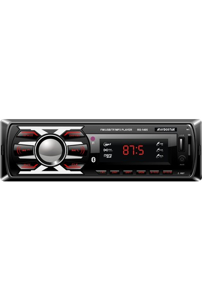 Raydostar RS-1408 Bluetoothlu 4*50 Ses Çıkışlı Oto Teyp