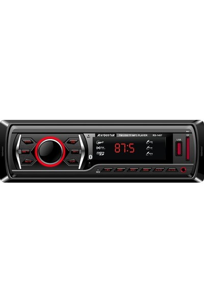 Raydostar RS-1407 Bluetoothlu 4*50 Ses Çıkışlı Oto Teyp