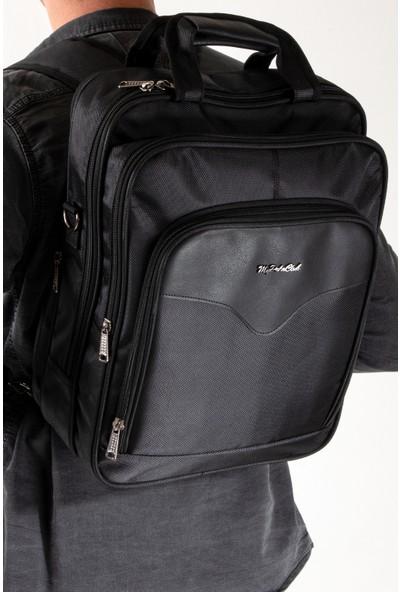 Byhakan GK7014 Omuz Askılı Evrak Çantası ve Laptop Çantası Siyah