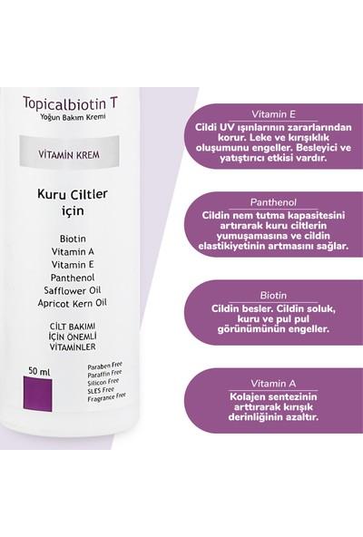Dermoskin Topicalbiotin-T Kuru Ciltlere Krem ( Top