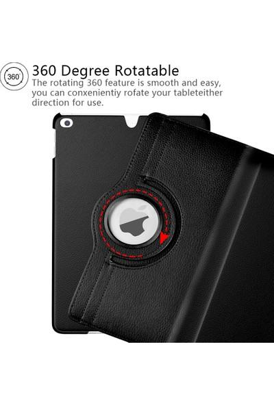 Redpoloshop iPad Air 4 10,9 A2324 A2072 Kılıf 360 Döner Kapaklı Standlı