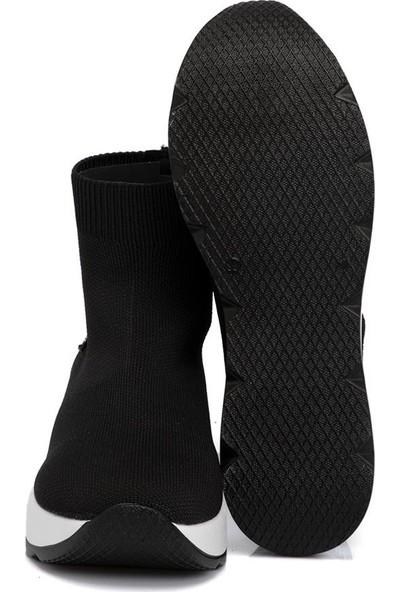 Tergan Siyah Kadın Tekstil Ayakkabı 65307O8X