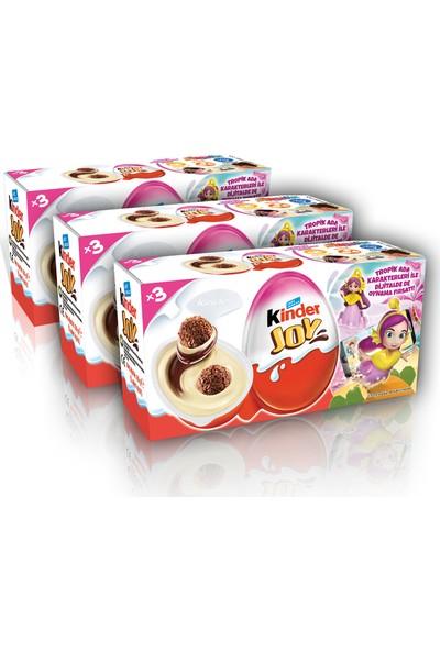 Ferrero Kinder Joy T3 3'lü Kız ve Erkek Seçeneğiyle 60 gr