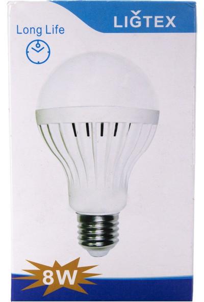 Lıgtex 8W LED Ampul 8W-24V 7000K