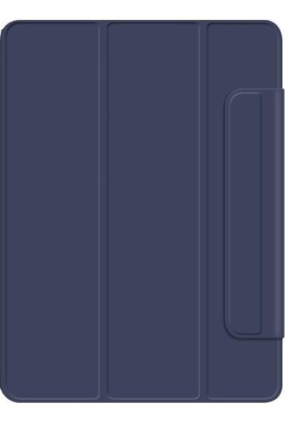 Redpoloshop Samsung Galaxy Tab S6 Lite 10,4 P610 P615 Kılıf Standlı Bluetooth Klavyeli Smart
