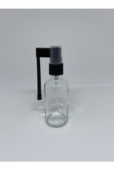 Şişecam Şeffaf Cam Ağız Sprey Şişesi 50 ml