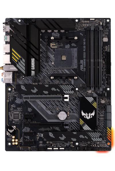 Asus TUF Gaming B550-Plus (Wi-fi) Amd B550 DDR4 4800 MHz (OC) Am4 AX Wifi + Bt Atx Anakart