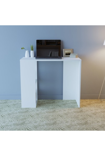 En6 Alvina Çalışma Masası Beyaz