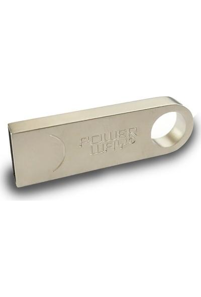 Powerway Powerway64 GB Metal USB Flash Bellek
