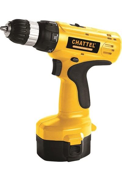 Chattel 4018-2 Akülü Vidalama Makinası