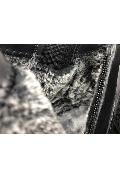 Slope Erkek Siyah Lastikli Günlük Kaymaz Taban Kışlık Bot 3421140M