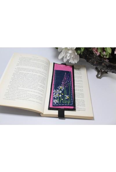 Kozalak Tasarım Çiçek Tasarım Kitap Ayracı