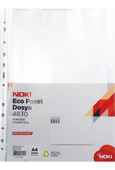 Noki Poşet Dosya Eco 100'lü Paket 4830
