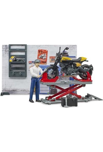 Bruder Motor Tamir Istasyonu BR62102