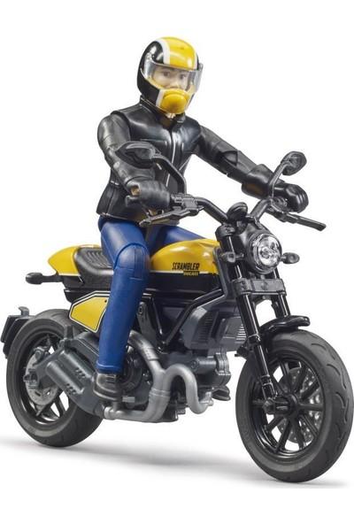 Bruder Ducatı F. Throttle Motorsiklet ve Sürücü BR63053