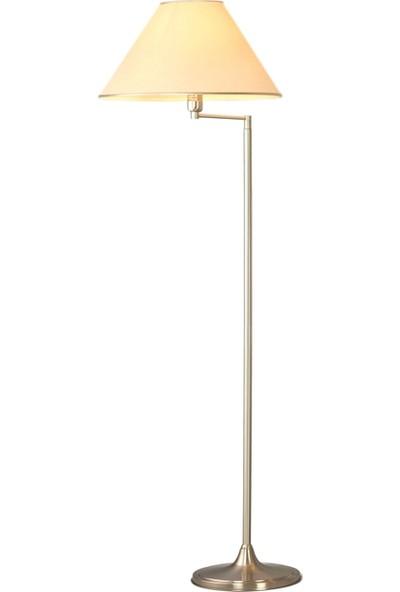 AVONNI HLM-9001-1N Nikel Kaplama Lambader E27 Metal 50x40cm
